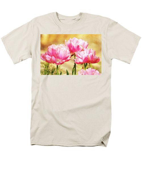 A Bouquet Of Tulips Men's T-Shirt  (Regular Fit) by Trina Ansel