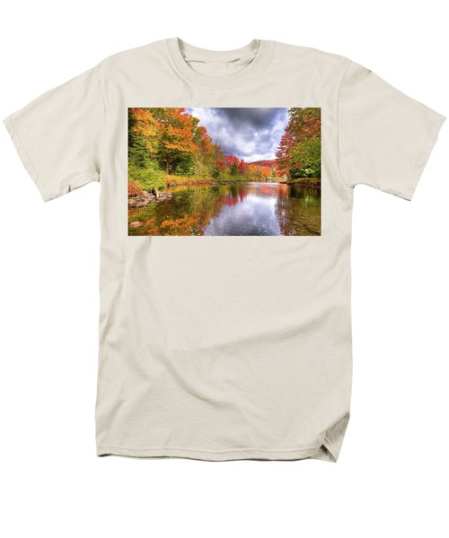 A Cloudy Autumn Day Men's T-Shirt  (Regular Fit) by David Patterson