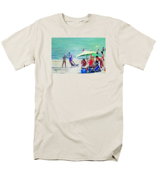 A Day At The Beach Men's T-Shirt  (Regular Fit)