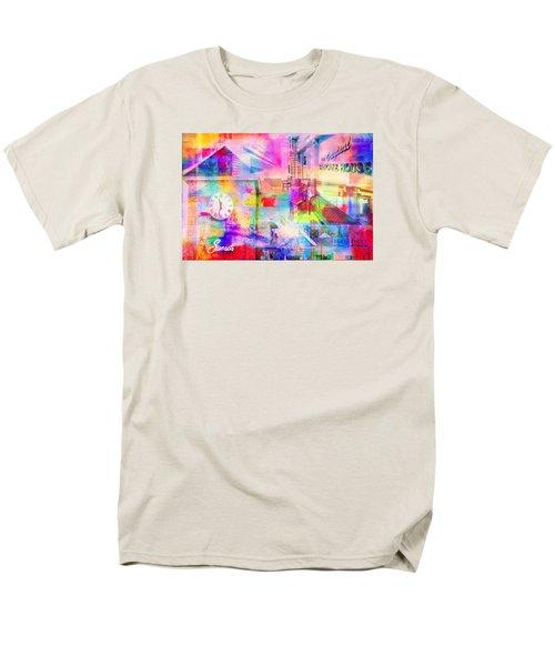 Wayzata Collage Men's T-Shirt  (Regular Fit) by Susan Stone