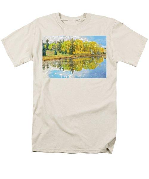 A Lakeside Willowwacks  Men's T-Shirt  (Regular Fit) by Bijan Pirnia