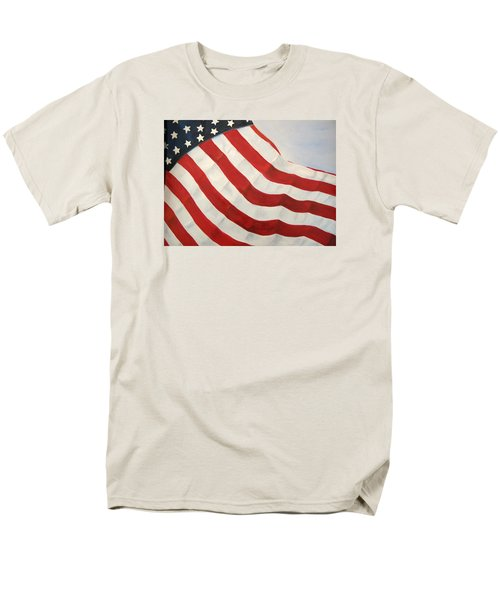 Men's T-Shirt  (Regular Fit) featuring the painting A Little Glory by Carol Sweetwood