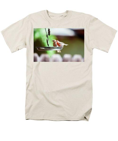 A Little Lunch Men's T-Shirt  (Regular Fit) by Wade Courtney