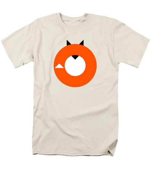 A Most Minimalist Fox Men's T-Shirt  (Regular Fit) by Nicholas Ely