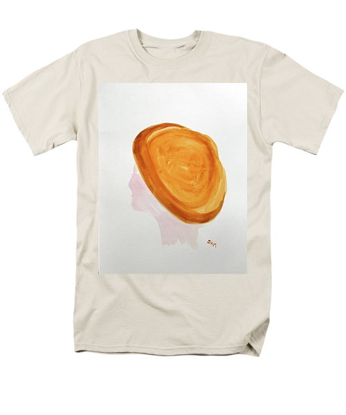 Men's T-Shirt  (Regular Fit) featuring the painting A Simple Hat by Sandy McIntire