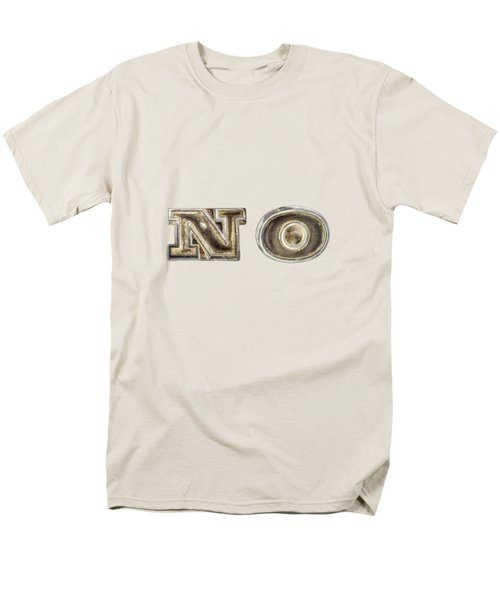 A Simple No Men's T-Shirt  (Regular Fit) by YoPedro