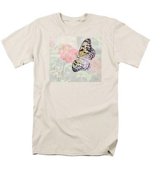 A Touch Of White Men's T-Shirt  (Regular Fit) by Rosalie Scanlon