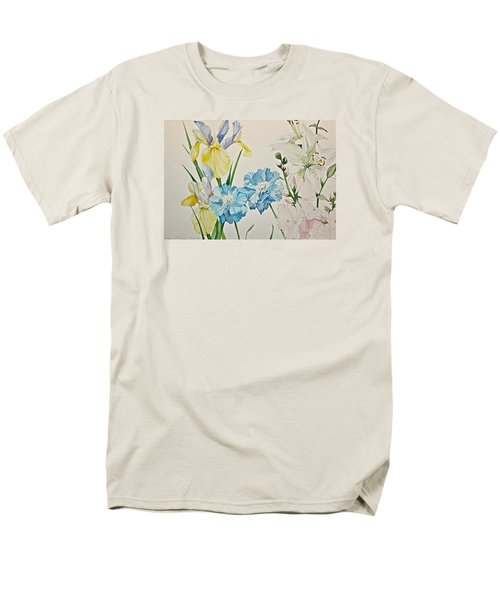 A Variety-posthumously Presented Paintings Of Sachi Spohn  Men's T-Shirt  (Regular Fit)