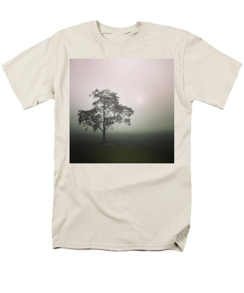 A Walk Through The Clouds #fog #nuneaton Men's T-Shirt  (Regular Fit) by John Edwards