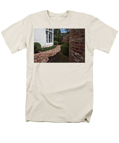 Men's T-Shirt  (Regular Fit) featuring the photograph A Walk Through The Greenbrier by Laurinda Bowling