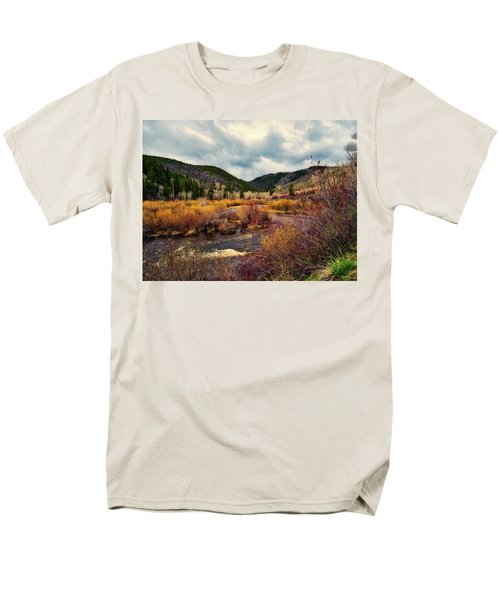 A Wyoming Autumn Day Men's T-Shirt  (Regular Fit) by L O C