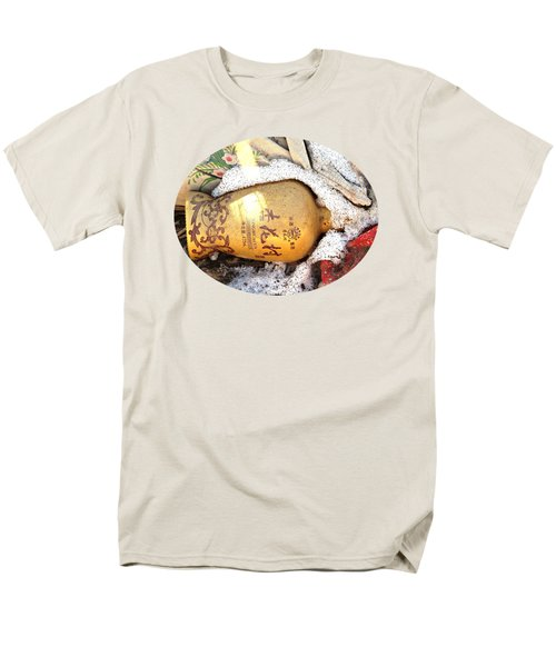 Men's T-Shirt  (Regular Fit) featuring the photograph Abandoned Bottle by Ethna Gillespie