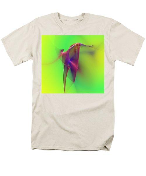 Abstract 091610 Men's T-Shirt  (Regular Fit) by David Lane