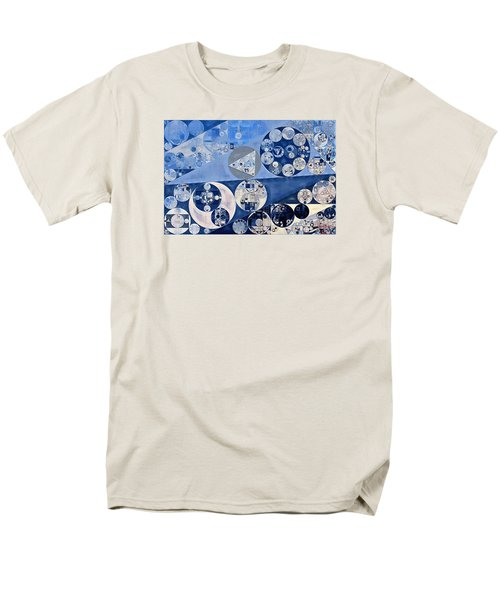 Abstract Painting - Blue Whale Men's T-Shirt  (Regular Fit) by Vitaliy Gladkiy