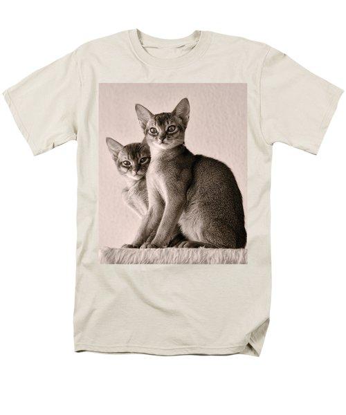 Abyssinian Kittens Men's T-Shirt  (Regular Fit)