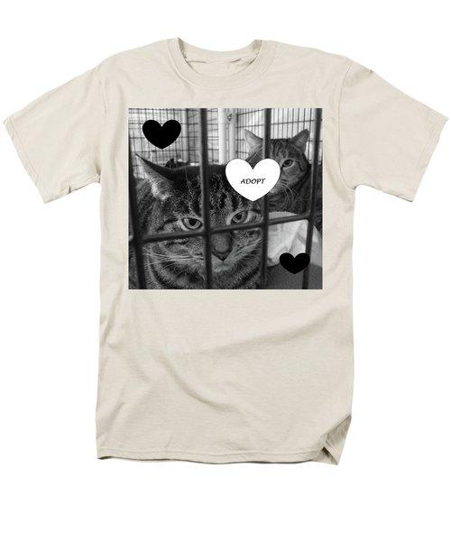 Adopt Men's T-Shirt  (Regular Fit) by Mary Ellen Frazee