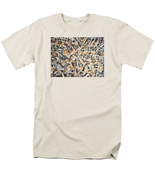 Men's T-Shirt  (Regular Fit) featuring the painting Africa Iv by Fereshteh Stoecklein