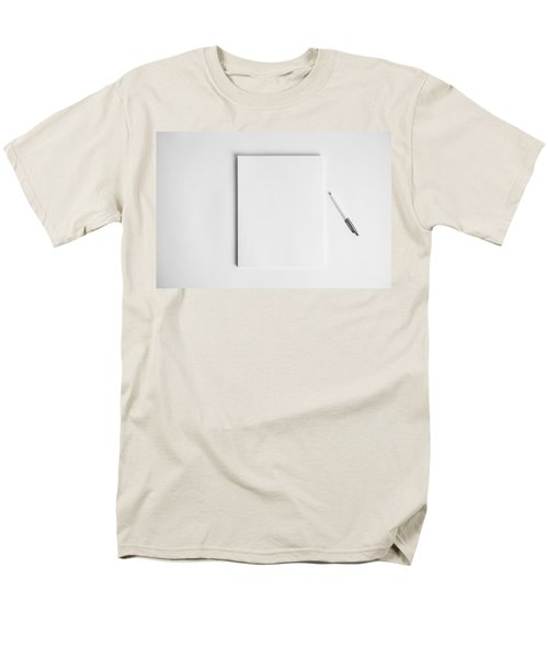 To Be Filled In Anyway You Like It Men's T-Shirt  (Regular Fit) by Yvette Van Teeffelen