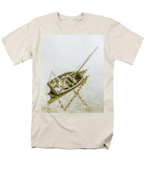 Aground Men's T-Shirt  (Regular Fit) by Patrick Kain