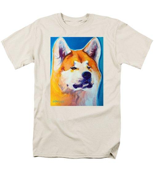 Akita - Apricot Men's T-Shirt  (Regular Fit)