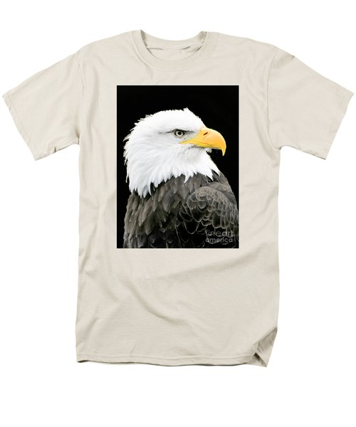 Alaskan Bald Eagle Men's T-Shirt  (Regular Fit) by Merton Allen