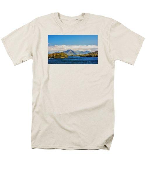 Men's T-Shirt  (Regular Fit) featuring the photograph Alaskan Wilderness by Lewis Mann
