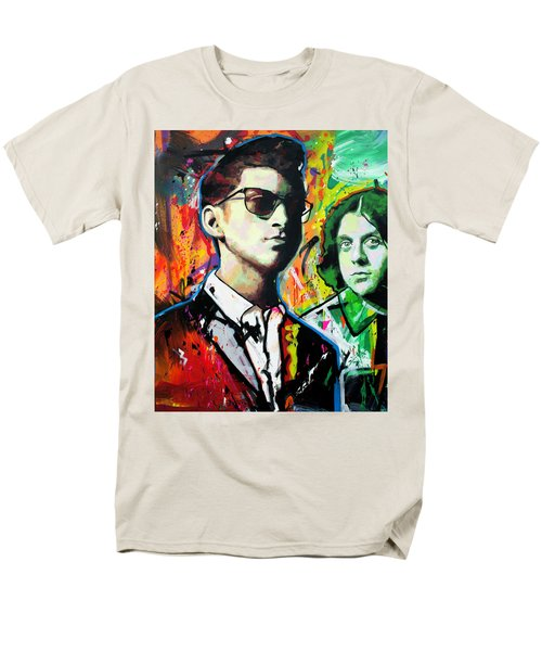 Men's T-Shirt  (Regular Fit) featuring the painting Alex Turner by Richard Day