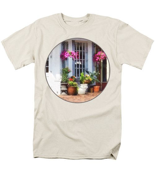 Alexandria Va - Corner Of King Street And S Alfred Men's T-Shirt  (Regular Fit) by Susan Savad
