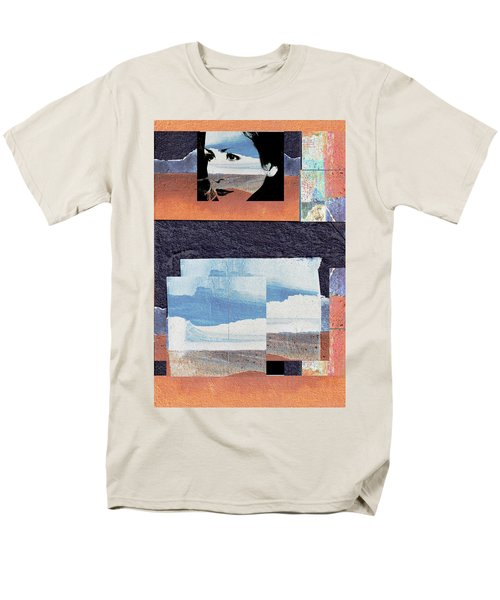 Men's T-Shirt  (Regular Fit) featuring the photograph All That We See Or Seem Is But A Dream Within A Dream, Even She by Danica Radman