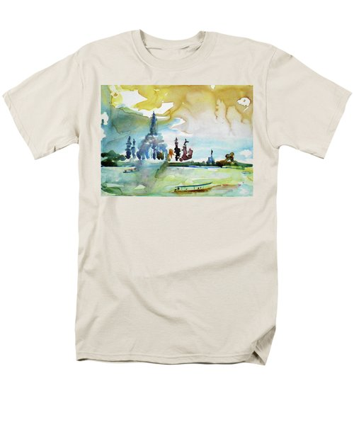 Along The Chao Phaya River Men's T-Shirt  (Regular Fit) by Tom Simmons