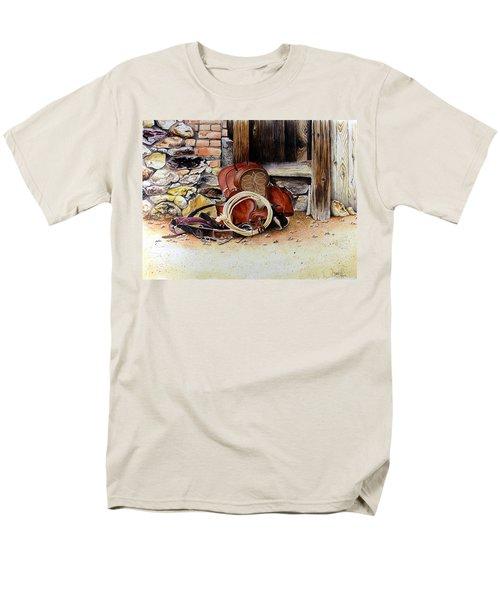 Amanda's Saddle Men's T-Shirt  (Regular Fit) by Jimmy Smith