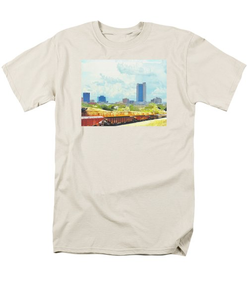 Amarillo Texas In The Spring Men's T-Shirt  (Regular Fit) by Janette Boyd