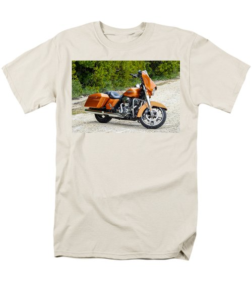Amber Whiskey Street Glide Men's T-Shirt  (Regular Fit) by John McArthur