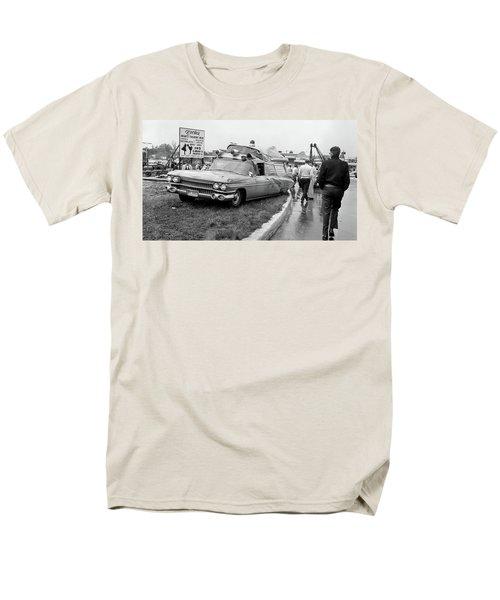 Ambulance Accident Men's T-Shirt  (Regular Fit) by Paul Seymour