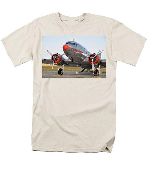 American Airlines Dc3 Men's T-Shirt  (Regular Fit) by John Black