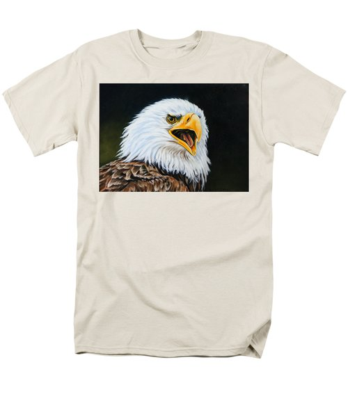 American Bald Eagle Men's T-Shirt  (Regular Fit)