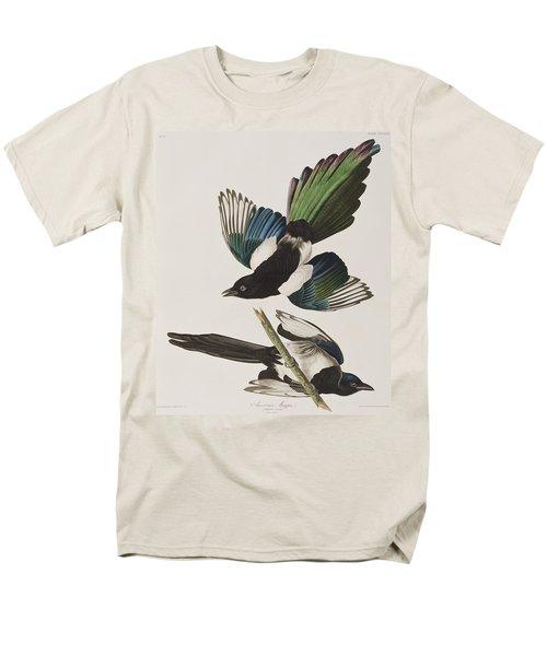 American Magpie Men's T-Shirt  (Regular Fit) by John James Audubon