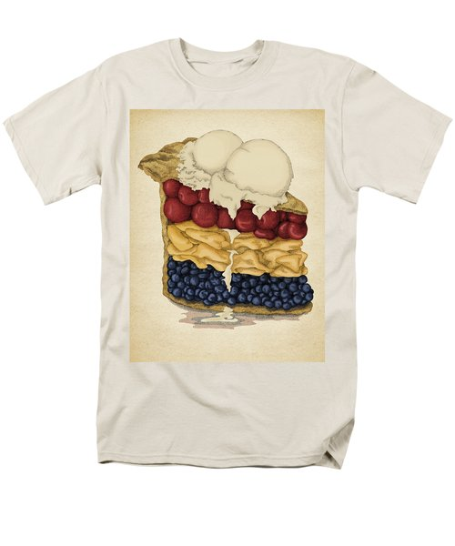 American Pie Men's T-Shirt  (Regular Fit) by Meg Shearer