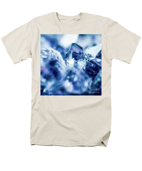 Men's T-Shirt  (Regular Fit) featuring the photograph Amethyst Blue by Sharon Mau