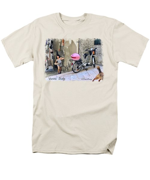 Angel Face.vieste.italy Men's T-Shirt  (Regular Fit) by Jennie Breeze