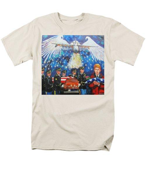 Angel Flight Men's T-Shirt  (Regular Fit) by Ken Pridgeon