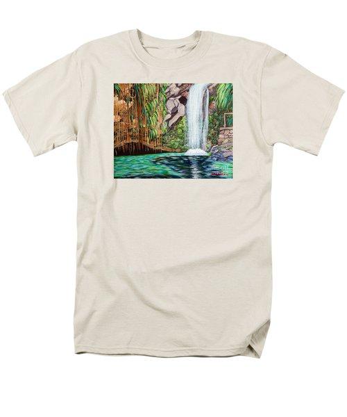 Annandale Waterfall Men's T-Shirt  (Regular Fit)