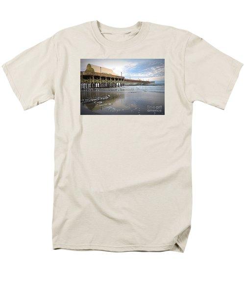 Men's T-Shirt  (Regular Fit) featuring the photograph Apache Pier by Shelia Kempf