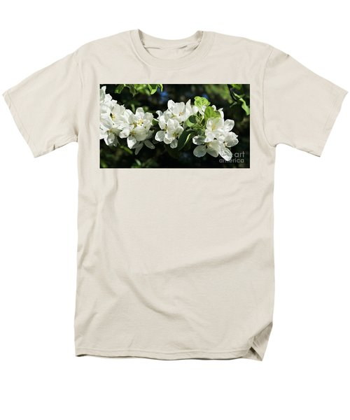 Apple Blossoms 2017 Men's T-Shirt  (Regular Fit) by Marjorie Imbeau