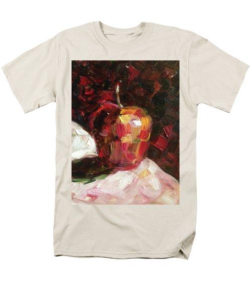 Apple  Men's T-Shirt  (Regular Fit) by Roxy Rich