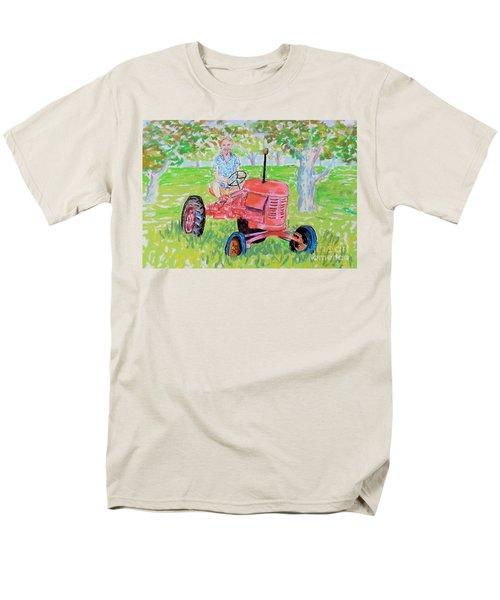 Apple Tree Farmer Sean Smith Men's T-Shirt  (Regular Fit) by Rae  Smith