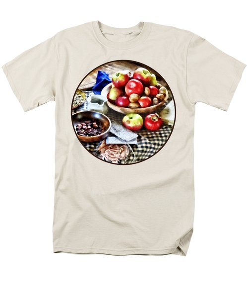 Apples And Nuts Men's T-Shirt  (Regular Fit) by Susan Savad