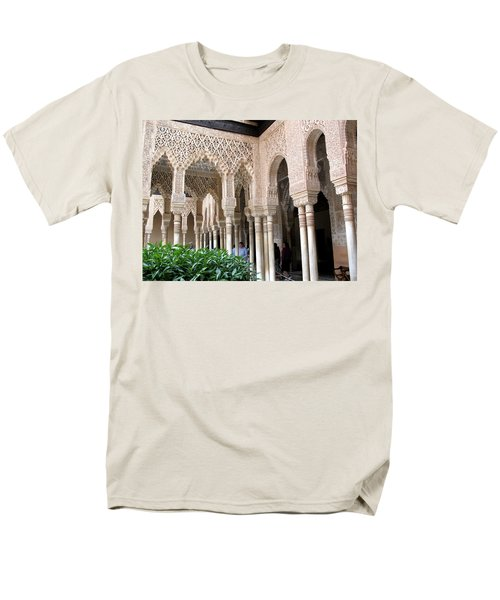 Arches And Columns Granada Men's T-Shirt  (Regular Fit) by Jacqi Elmslie