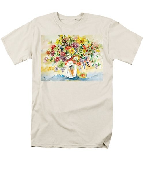 Arrangement IIi Men's T-Shirt  (Regular Fit) by Alexandra Maria Ethlyn Cheshire