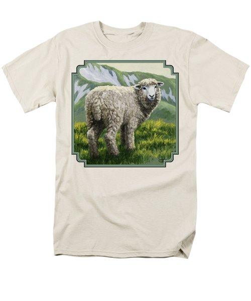 Highland Ewe Men's T-Shirt  (Regular Fit)
